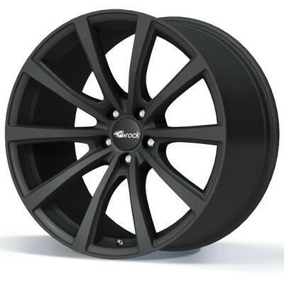 BROCK B32 Mat zwart 22 inch velg