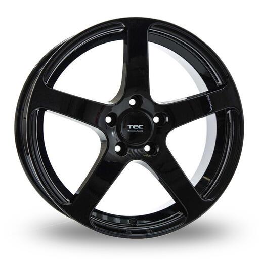 TEC GT5 black glossy 20 inch velg