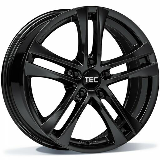 TEC AS4 black glossy 16 inch velg