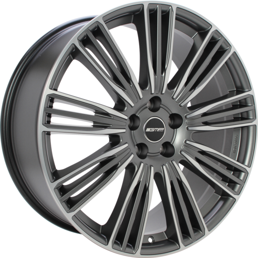 GMP COVENTRY Mat antraciet gepolijst 21 inch velg