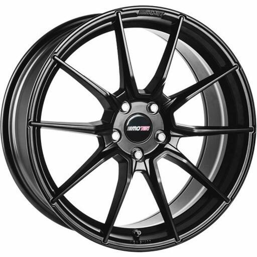Motec Ultralight flat black 19 inch velg