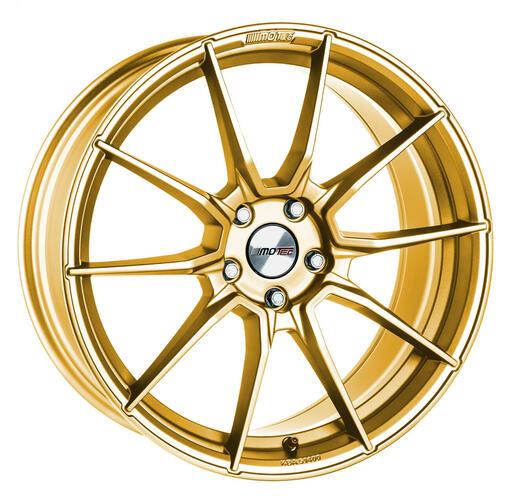 Motec Ultralight gold painted D7 19 inch velg