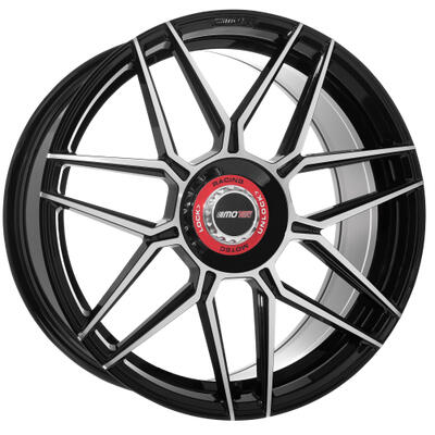 Motec GT.one black polished 19 inch velg
