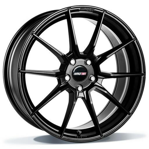 Motec Ultralight black painted 19 inch velg
