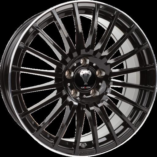 AXXION AX5 Zwart gepolijst 19 inch velg