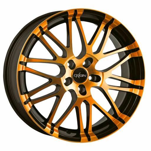 Oxigin 14 Oxrock orange polish 22 inch velg