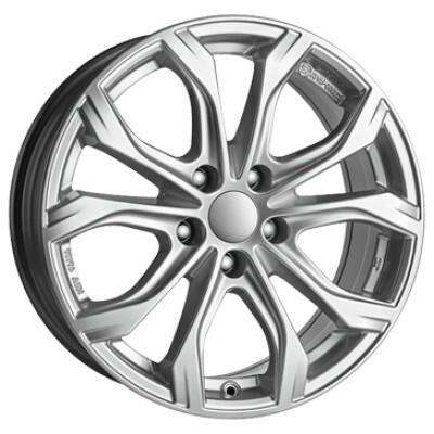 ALUTEC W10X polar-Zilver 20 inch velg