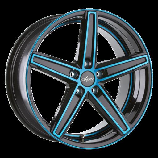 Oxigin 18 Concave light blue polish Mat 18 inch velg