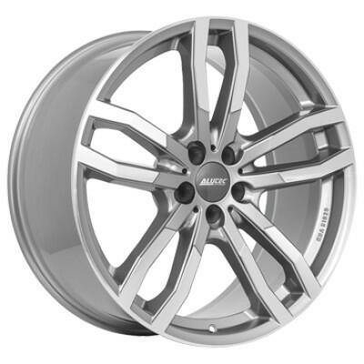ALUTEC DriveX metal-grey frontGepolijst 20 inch velg