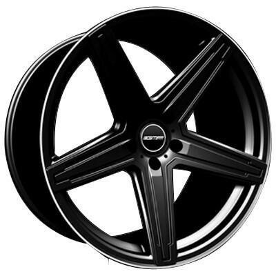 GMP MK1 Zwart met gepolijste rand 21 inch velg