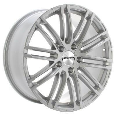 GMP TARGA Zilver 20 inch velg