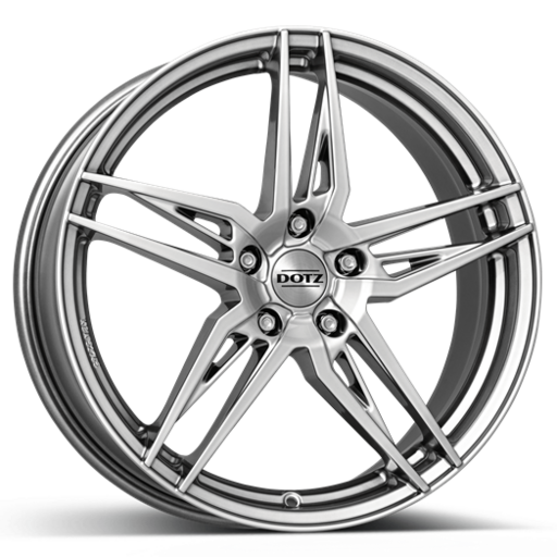 Dotz Interlagos shine High gloss 18 inch velg