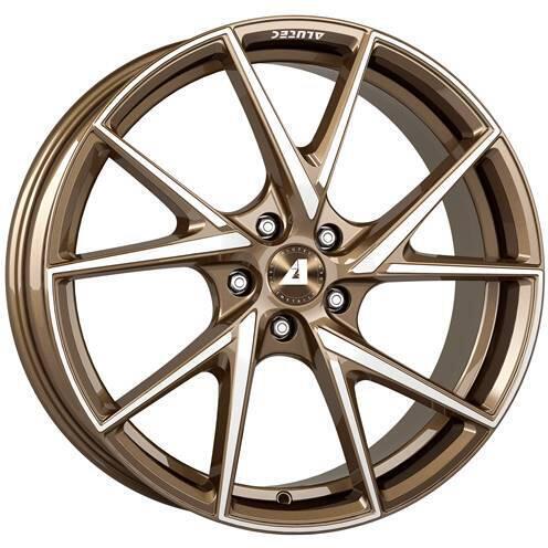 ALUTEC ADX.01 metallic-bronze frontGepolijst 18 inch velg