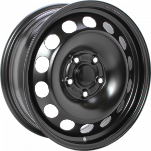 ALCAR STAHLRAD 9187 Zwart 16 inch velg