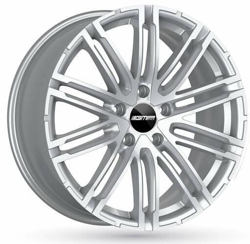 GMP TARGA Silver 20 inch velg