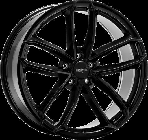 WHEELWORLD WH33 Zwart glanzend 21 inch velg