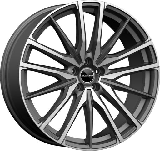 GMP SPARTA Anthracite matt  diamond 21 inch velg