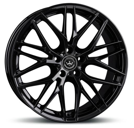 Meisterwerk MW14 Black Polished 18 inch velg