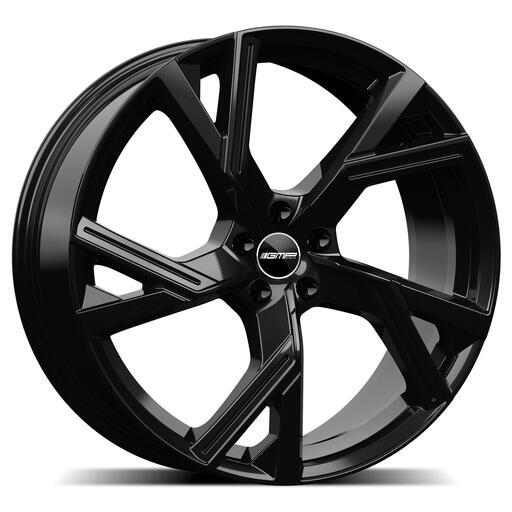 GMP ANGEL Black glossy 21 inch velg