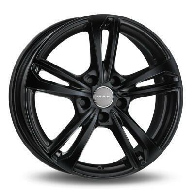 MAK EMBLEMA Zwart 17 inch velg