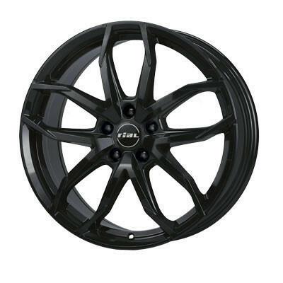RIAL LUCCA Zwart 16 inch velg