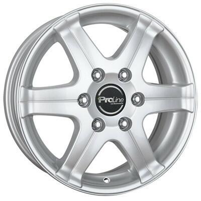 Proline Wheels PV/T arctic silver 16 inch velg