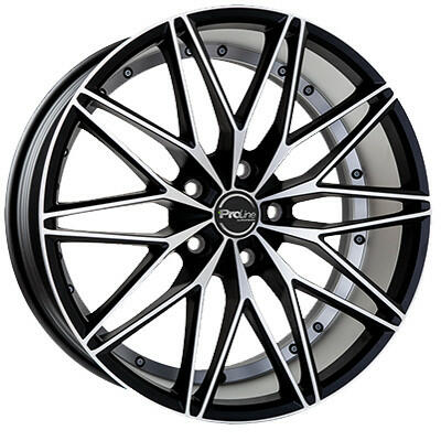 Proline Wheels PXE black matt polished 18 inch velg