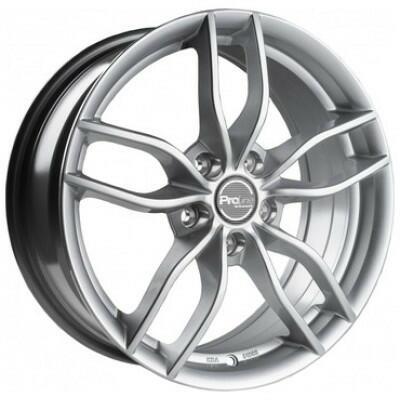 Proline Wheels ZX100 arctic silver 15 inch velg