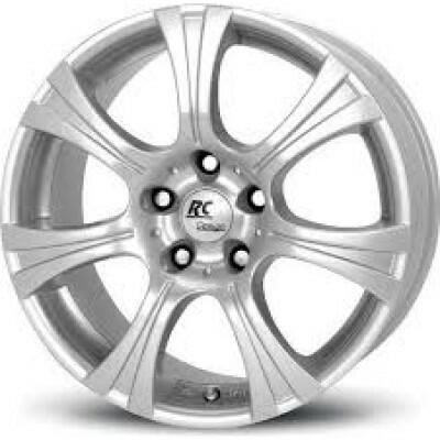 RC DESIGN RC15 T Zilver 16 inch velg